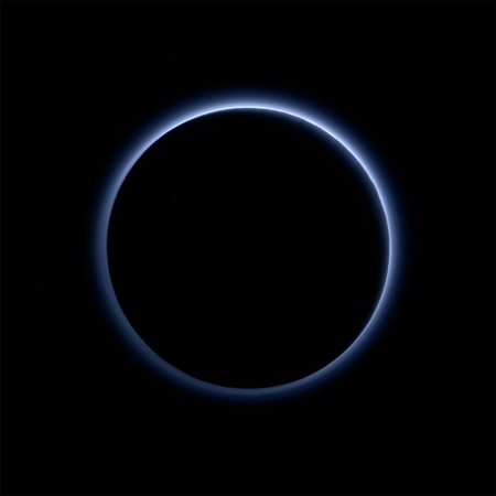 plutos-blue-atmosphere-suprises-scientists-as-its-just-like-earths-taken-in-july-2015-by-new-horizons